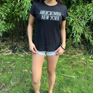 Abercrombie and Fitch Black Shirt